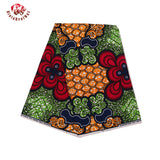 6 Yards High Quality Ankara Super Hollandais Wax High Quality African Fabric for Party Dress
