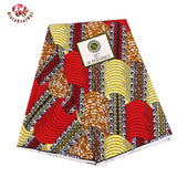 6 Yards High Quality Ankara Wax Fabric Print