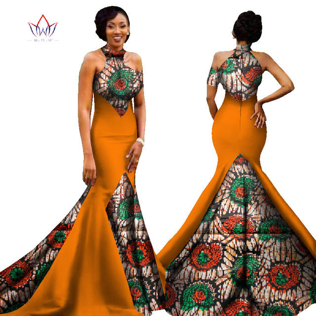 7d10b23da54 Hover to zoom · Mermaid African Dresses New Arrival Sleeveless Floor Length  Women Formal Occasion Dress Africa Evening Gowns for