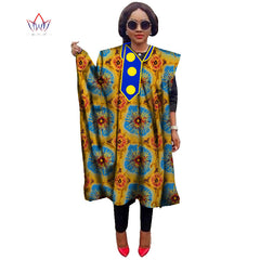 African Traditional Clothing for Women Tees Fashions Women Tops Dashiki  African Print Clothing Robe Gown Plus ... 20b85e0bc361