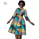 Plus Size african dresses O- neck dress for women-0wame12