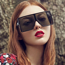 JackJad Fashion Oversized Square Frame Shield Style BETTY Sunglasses Women Cool Trend Brand Design Sun Glasses Oculos De Sol