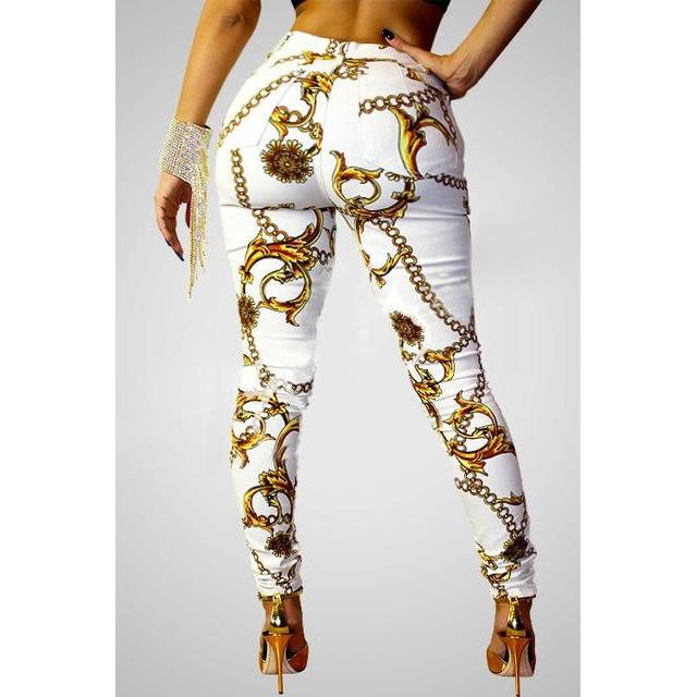 2018 African Dress Clothing Riche Hot New National Cultivate One's Morality To Mention Digital Printing Leggings Sexy Trousers