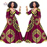 African three-quarter sleeve dresses for women,Dashiki african print clothing plus size 5xl-0wame12