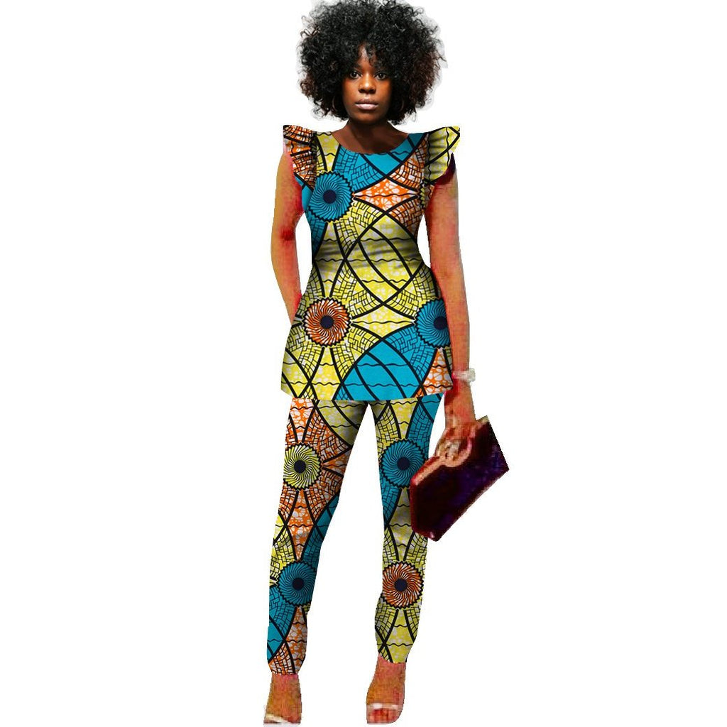 0126b6a62fb African Print Dress Designs For Plus Size