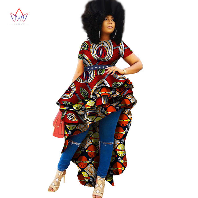 882c2e86ff3 African Print Traditional Top