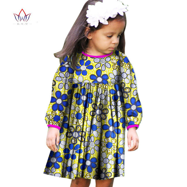 3c221335f3 ... 2018 Summer African Women Clothing kids dashiki Traditional cotton  Dresses Matching Africa Print natural Dresses Children ...