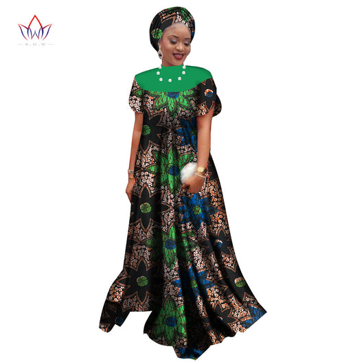 Africa Women  Dresses for Women Dashiki Elegant Party Dress Plus Size Traditional African Clothing -0wqa78