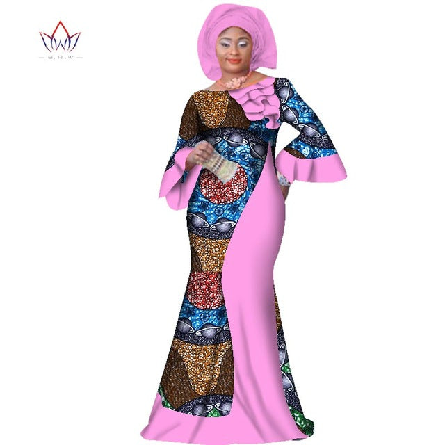 1f413db527e ... plus size women clothing Maxi natural Dress Dashiki african dress for women  in african clothing party ...