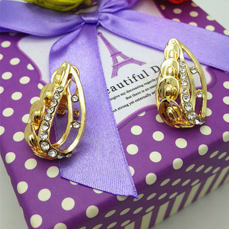 Luxury Dubai Jewelry Set,Gold Color Romantic Nigerian Wedding Jewelry Sets, African Costume Jewelry Set For Women