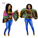 African Women's Clothing 6xl Dashiki o-neck plus size Top-0wqa78
