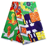 High Quality 6 yards of african ankara fabric african wax prints fabric-0wame13