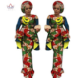 African style dresses and skirts cotton Long Sleeve Tops and Long African Print Skirt Plus Size Dresses for Women Size M,L,XL,XXL,XXXL,4XL,5XL