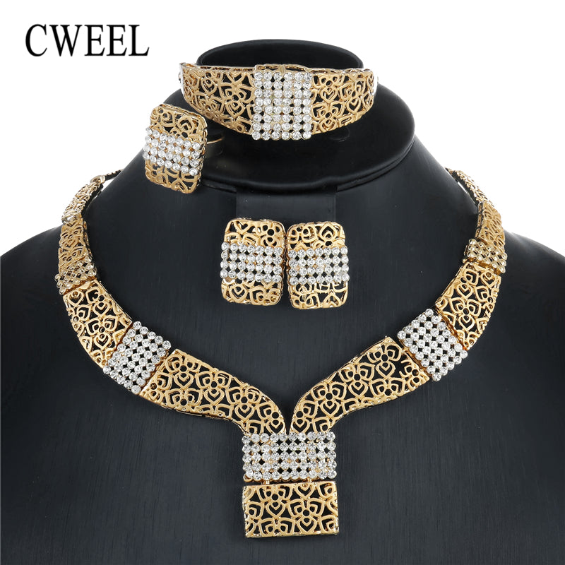 Bridal Jewelry Sets For Women Party African Beads Jewelry Set Cheap Classic Costume Ethiopian Wedding Jewelry Set