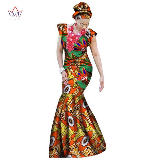 06e015eb311 2018 summer african dresses for women dashiki women african print  ankle-length long part dress. Hover to zoom