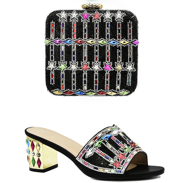 ... Women Shoes and Bag Set In Italy Matching Shoes and Bag Set In Heels  African Shoes 33c86176f8ad
