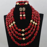 Fashion Red Long Design African Coral Beads Jewelry Sets Indian Jewelry Sets Bridal Necklace Jewelry Sets, Big bold african jewelry Set,Large Orange Coral Bead Set/African Wedding Coral Bead Set/ Nigerian Bridal Beads Sets/African Coral Beads Sets