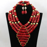 Big bold african jewelry Set,Large Orange Coral Bead Set/African Wedding Coral Bead Set/ Nigerian Bridal Beads Sets/African Coral Beads Set,Orange 4 Rows African Coral Beads Jewelry Sets Indian Jewelry Sets Bridal Necklace Jewelry Sets