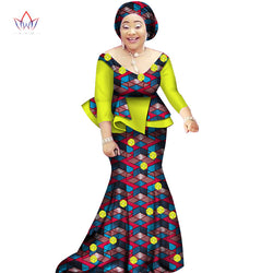 African women two piece o-neck print Skirt set african clothing plus size women cotton clothing,African ankara skirt and top for Women African Print Long Dresses Dashiki Dress,African party dress ,Long African dress ,skirt and blouse