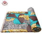 African Wax with Print fabric, African Ankara Fabric Clothes African Wax Prints Fabric Super Wax Hollandais 0MWE78