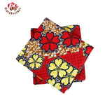 100%  Polyester Wax Prints Fabric,Ankara Super Hollandais Wax High Quality 6 yards  African Fabric for Party Dress 009