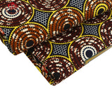 2017 Ankara African Polyester Wax Prints Fabric Super Hollandais Wax High Quality 6 yards African Fabric for Party Dress 009
