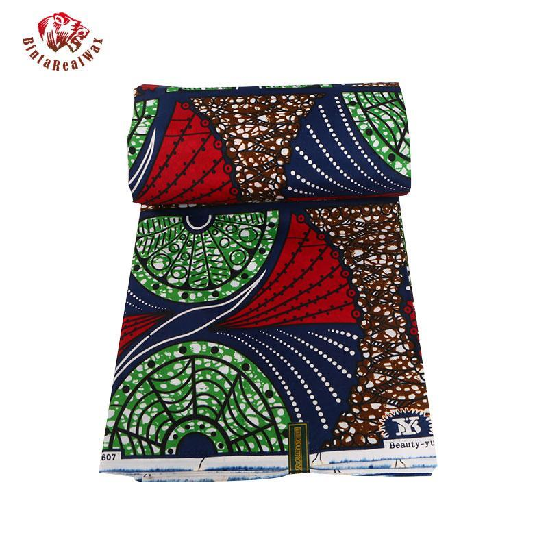 100%  Polyester Wax Prints Fabric 2017 Ankara Super Hollandais Wax High Quality   African Fabric for Party Dress 009