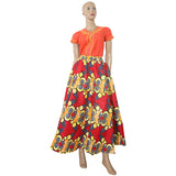 African african print skirt Long maxi Skirt Ankara Dashiki African clothes for women skirt High Waist Skirts-0wm12
