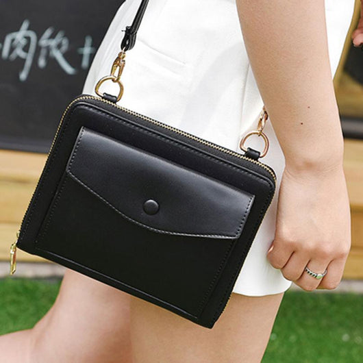 Handbag Women Casual New Messenger Bags Shoulder Bags Artificial Leather Ladies Handbag Small Body Bags-0WMBG08