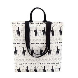 Tote Female New Ladies Canvas Leisure School Bag with cute Dog luxury handbags women bags -0WMBG08