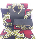 TN!women purses and handbags african wax bag set african wax prints fabric super wax hollandais 6yard/lot-0WQY78