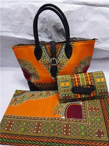 HIGH QUALITY SUPER WAX HOLLANDAIS WITH HAND BAG AFRICAN ANKARA FABRIC WITH WOMEN HANDBAG AFRICAN WAX PRINTS FABRIC-0WQY78