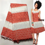 black and white lace fabric african high quality nigerian guipure lace for women dress 5yard/lot-D1141