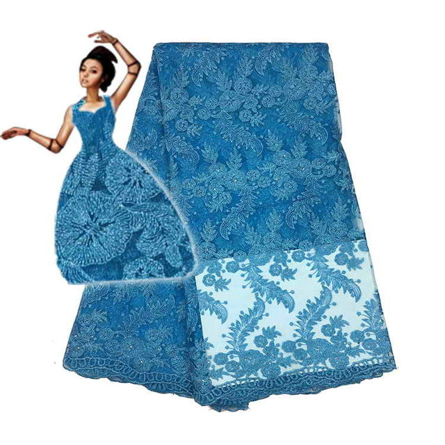5yardslot Last Design 2018 High Quality Nigerian French Lace African Lace Fabric For Party Dress Fc1601 11tfree Shipping