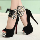 European and American fashion clubs nightclubs with high heels shallow mouth fish head shoes women shoes-D1141
