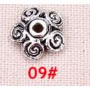 100pcs/lot The Vintage silver beads cap fitting jewelry accessories DIY Jewelry Findings