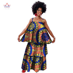 c45abf6df0 Africa Two Piece Set For Women Fashion 2018 Dashiki Lace Edge African  Clothes Bazin Plus Size ...