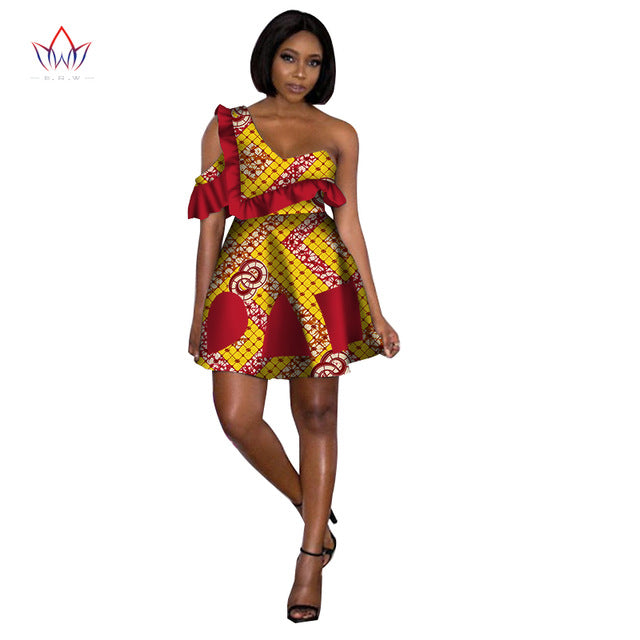 64d2848ecbe04 Hover to zoom · Africa Dresses for Women New Style 2018 Bazin Sexy Cute Women  Dresses Dashiki Plus Size Traditional