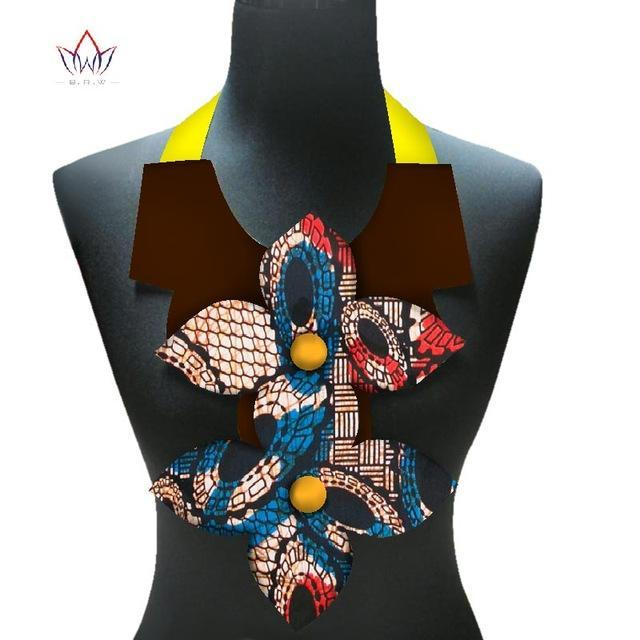 2017 New africa women necklace bohemia handmade necklace&pendants multicolor statement choker necklaces for ladies WYB256