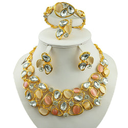 african jewelry set free shipping  fashion jewelry  gold women necklace wedding party jewelry