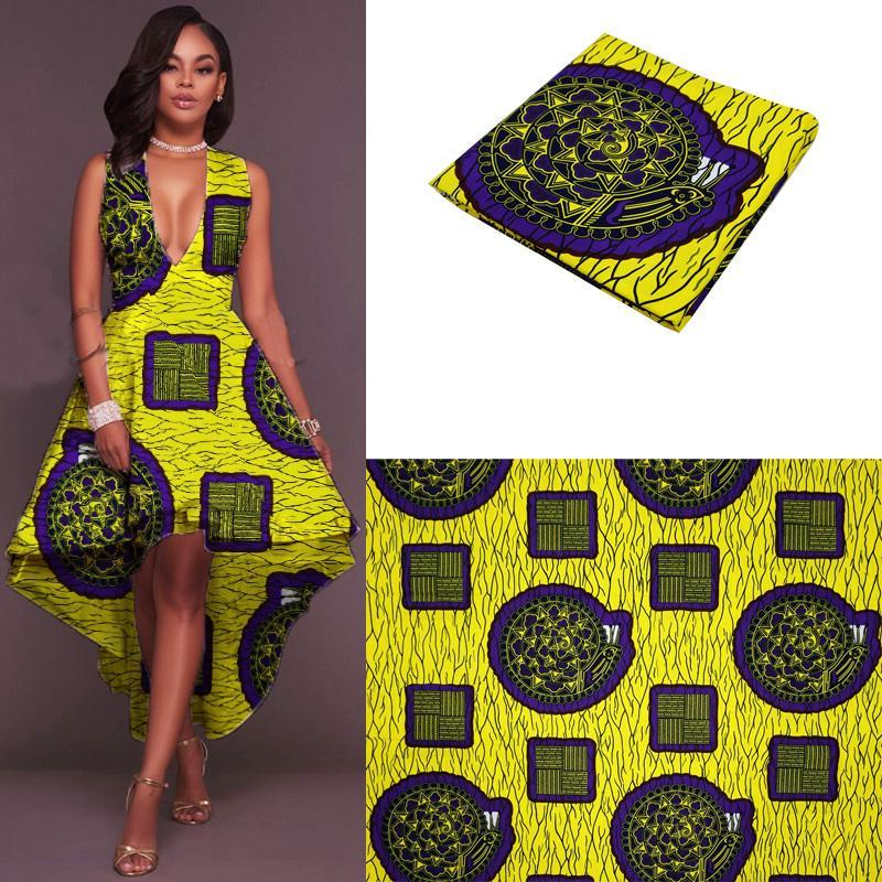 2017 most popular hollandais wax african wax fabric african wax cloth ghana wax print fabric pure cotton factory wholesale