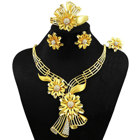 jewelry sets african women necklace costume jewelry set african