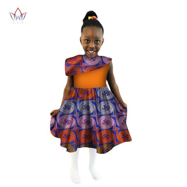 ec266932851 ... Dashiki Cute Girls Dresses Bazin Riche Sweet African traditional  clothing. Hover to zoom