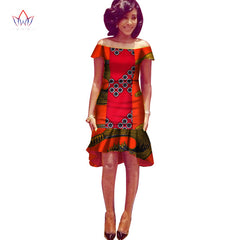 088b0303630ec Africa Dress For Women African Wax Print Dresses Dashiki Plus Size Africa  Style Clothing for Women ...