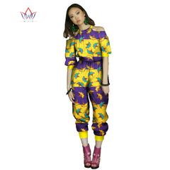 643353a2dc3cf beautiful and cheap african women jumpersuit with print women african  clothing halter dashiki pant plus size ...