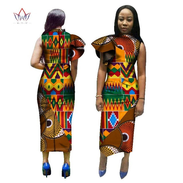 79cde6b91f0 ... Summer Dress 2017 Women Maxi Dress African Print Dress Sleeveless Long  Dress Women Print Clothing Plus ...