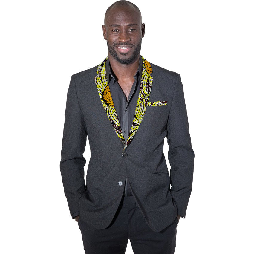 6cdc372a12 African fashion men's dashiki suit jacket bright print wax mens african  blazers africa outfits for wedding/party customized