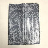 African Guinea Brocade Lace High Quality 100% Cotton Bazin Lace Printed Jacquard For Man Bazin Riche Getzner Free shipping