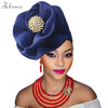 Image of Nigerian gele headtie aso oke headtie aso ebi gele already made auto hele gele turban cap african headtie 2018