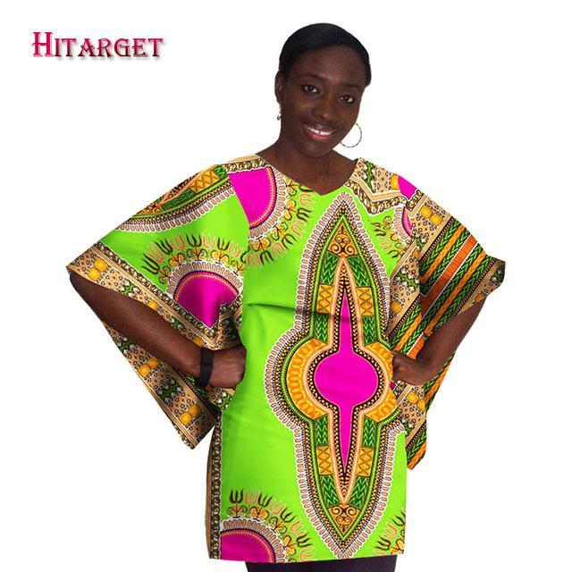 2017 Hitarget Fashion african dresses for women african clothing robe Clothing dashiki Loose dress women african tops WY792